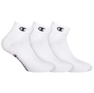 Sportovní kotníkové ponožky 3 páry CHAMPION ANKLE SOCKS LEGACY 3x - CHAMPION - bílá 39 - 42