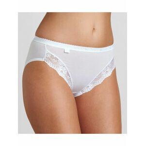 Dámské kalhotky Romance Tai bílé - Sloggi WHITE 44