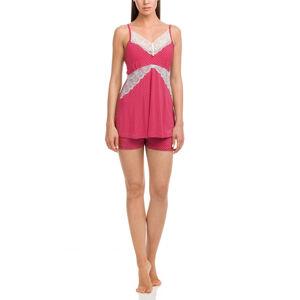 Vamp - Dámské pyžamo 12146 - Vamp red bud s