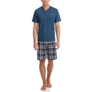 Vamp - Pánské pyžamo 12601 - Vamp blue marine xxl