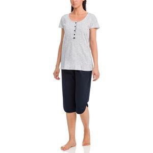 Vamp - Dámské pyžamo 12373 - Vamp blue xxl