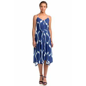 Vamp - Letní dámké šaty 14483 - Vamp blue roua s