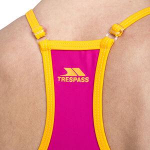 Dámské plavky dvoudílné ZIENA - FEMALE BIKINI TOP FW18 - Trespass L