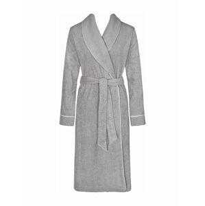 Dámský župan Robes SS18 Long Robe stříbrně šedá - Triumph 40 stříbrně šedá (3647)