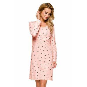 Mateřská košile Linda růžová  XL