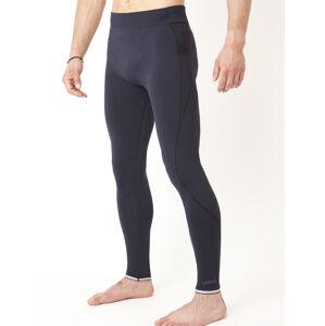 Dlouhé pánské termo kalhoty IRON-IC Down 1.0 - modrá Barva: Modrá, Velikost: XXL