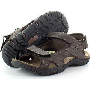 Pánské sandály Regatta RMF331 HARIS Tmavě hnědé 45