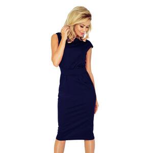 Tmavě modré dámské šaty model 5096122 L
