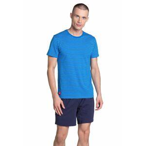 Pánské pyžamo Lane modré modrá XXL