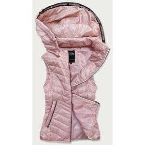 Dámská růžová vesta (6307) růžový 46