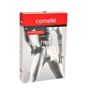 Pánské podvlékací kalhoty Cornette Authentic Thermo Plus 4XL-5XL černá 4XL