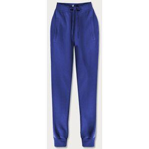 Teplákové kalhoty v chrpové barvě (CK01-15) modrý S (36)