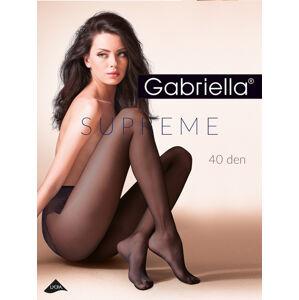 Punčochové kalhoty Gabriella Supreme 398 40 den odstín béžové 2-S
