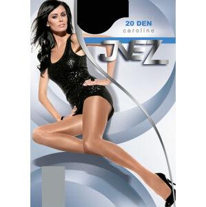 Punčochové kalhoty Inez Caroline Elastil 20 den 6-3XL béžová 6-3XL