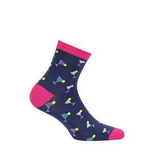 Dámské ponožky Wola Perfect Woman W84.01P Casual růže / lurex 39-41