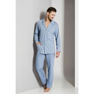 Pánské pyžamo Regina 265 dl/r M-XL '18 Béžová L