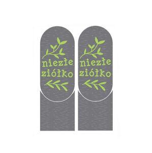 Ponožky se životními instrukcemi Soxo ABS 3124 šedá 25-27