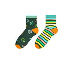 Dámské nepárové ponožky More 078 tmavě šedá 39-42