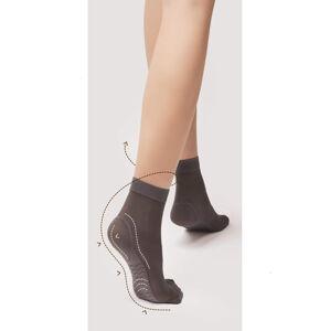 Dámské ponožky Fiore Body Care Massage M 1101 40 den tan/odc.béžová Univerzální
