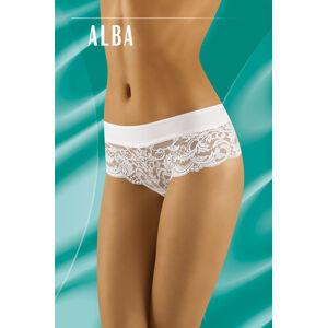 Dámské kalhotky Wolbar Alba S-XL bílá M