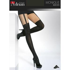 Dámské punčochové kalhoty Adrian Monique 20/40 den 6-XXL nero 6-XXL