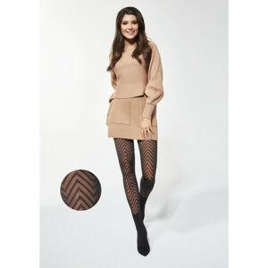Dámské punčochové kalhoty Adrian Sonia 30 den 2-4 Nero 2-S
