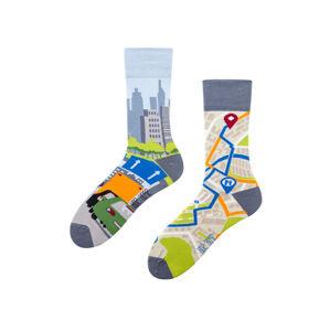 Ponožky Spox Sox - Město Vícebarevné 40-43