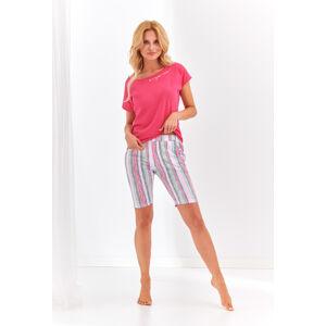 Dámské pyžamo Taro 2172 Pola kr/r S-XL 'L20 malinová S