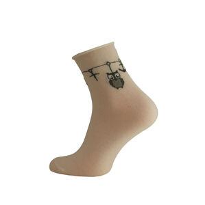 Dámské ponožky Bratex Lady 8422 fialová 39-41