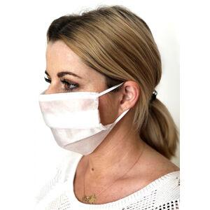 Ochranná vlizelínová maska L&L 2vrstvá A'10 bílá univerzální