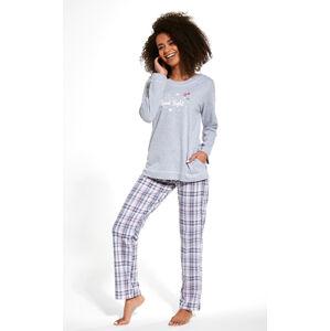 Dámské pyžamo Cornette 679/254 Good Night žáhaná S