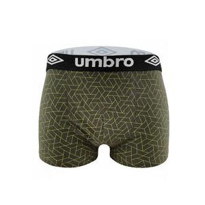Pánské boxerky Umbro UMUM 0220-71 Mens Trunk černá XXL