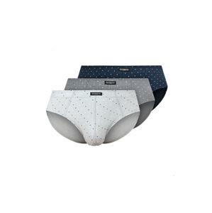 Pánské slipy Henderson 1446 K500 A'3 multikolor M