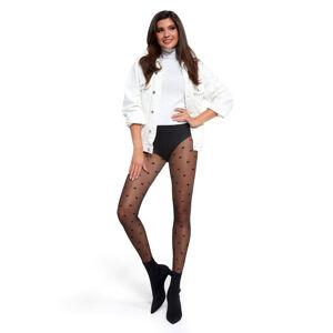 Dámské punčochové kalhoty Adrian Lou 20 den Nero 3-M