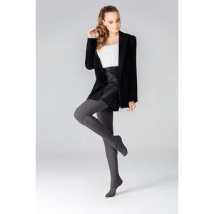 Dámské punčochové kalhoty Mona Melange 3D 50 den 1-4 odstín šedé 3-M