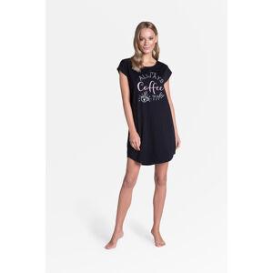 Dámská noční košile Henderson Ladies 38908 Truth kr/r S-XL černá S