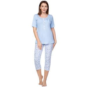 Dámské pyžamo Regina 944 kr/r 2XL-3XL modrá 3XL