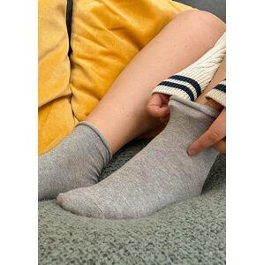 Antibakteriální dámské ponožky Regina Socks 5428 béžová 35-37