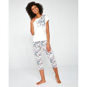 Dámské pyžamo Cornette 670/200 Sophie 3XL-5XL  okrová 3XL