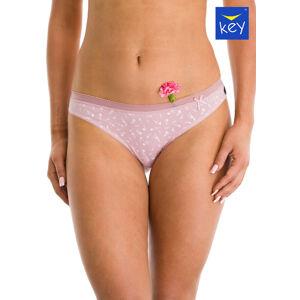Dámské kalhotky Key LPR 883 A21 A'2 modrá-růžová L