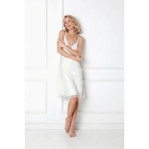 Dámská noční košilka Aruelle Brenna Nightdress w/r XS-2XL bílý L