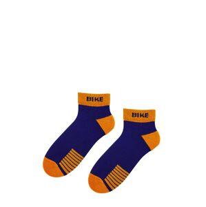 Pánské ponožky Bratex 0708 AG+ Sports tmavě modrá 39-41