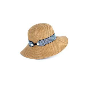 Dámský klobouk Art of Polo 20147 Plażowiczka bílý 57