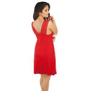 Dámská noční košile Funny Day Princess 2XL-3XL Červené 3XL