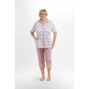 Dámské pyžamo Martel Elżbieta I 205 kr/r M-2XL bílý prášek L