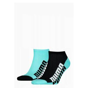 Pánské ponožky Puma 907967 Soft Cotton A'2 39-46 modrá, černá 43-46