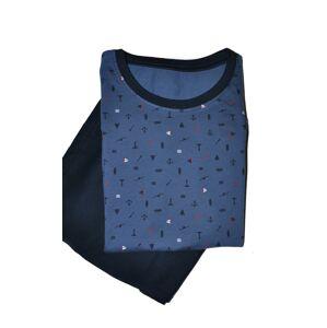 Pánské pyžamo Cornette 323/116 Jim kr/r S-2XL džíny M