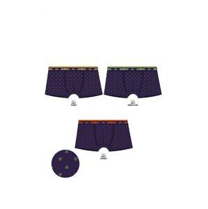 Pánské boxerky Umbro UIB 05157 Uomo navy-orange L