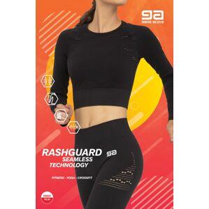 Dámský nátělník/top Gatta 43009S Rashguard Fitness Černá M