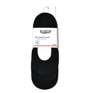 Dámké ponožky baleríny Ulpio 5038 Rehe Cotton ABS A'3 Černá 35-39